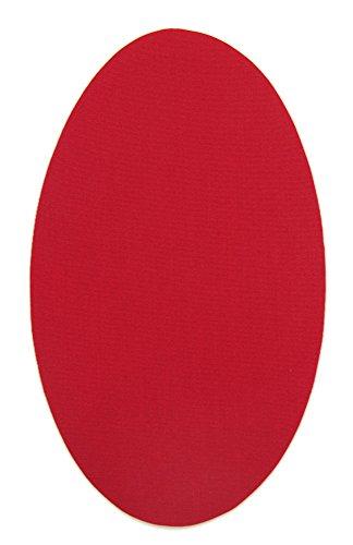 Haberdashery Online 6 rodilleras color Rojo