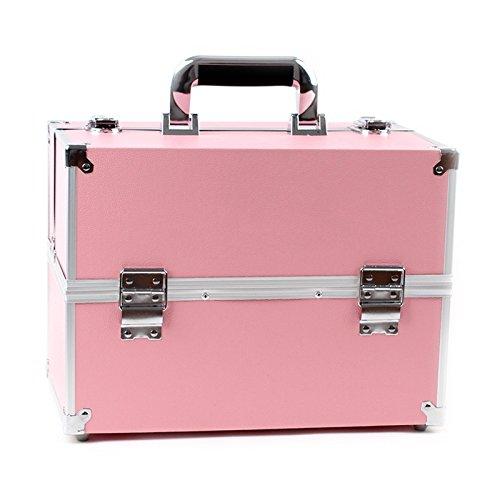 RY@ Multi-function mobile Reine maquillage artiste cosmétiques cas spécial (34 * 21 * 25 cm)