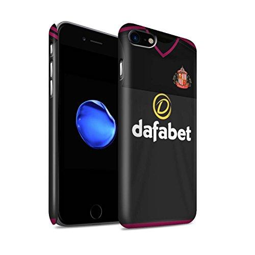 Offiziell Sunderland AFC Hülle / Matte Snap-On Case für Apple iPhone 7 / Harper Muster / SAFC Trikot Away 15/16 Kollektion Torwart