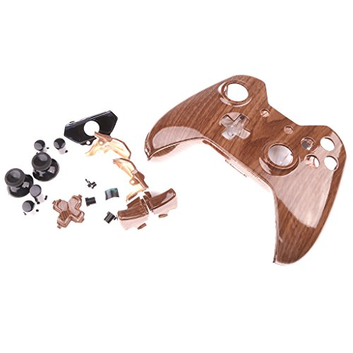 Segolike Custom Hydro Dipped Wood Grain Housing Kits w/ Buttons For XBOX ONE