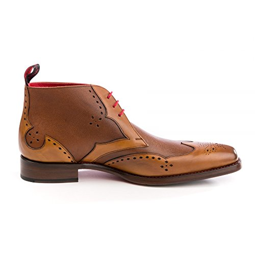 Jeffery West Cut Throat Mens Chukka Boot Travy Mahogany