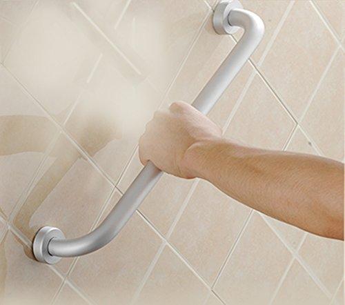 Elderly handrails QFF Accessible de Salle de Bain Espace Aluminium Baignoire Rampe de Salle de Bain WC WC antidérapant Poignée de sécurité pour Les Personnes âgées, 50 cm