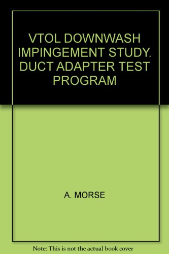 Duct-adapter (VTOL DOWNWASH IMPINGEMENT STUDY. DUCT ADAPTER TEST PROGRAM)