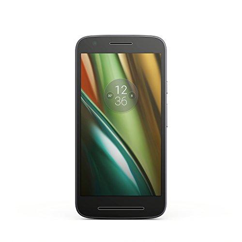Motorola Moto E3 Smartphone (12,7 cm (5 Zoll), 8GB, Android) [Französische Version] schwarz