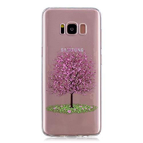 NEXCURIO Samsung Galaxy S8 / G950 Hülle Silikon, Schutz Handy Hülle Handytasche HandyHülle Stoßfest Kratzfest Etui Schale Schutzhülle Weich Bumper Case Cover für Samsung Galaxy S8 - NEHEX15912#8