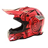 Qianliuk Motobike Helm Motorrad Red Bull Cross Country Helme Herren Mountainbike dh Helme