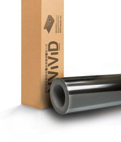 Vinyl-boot-wraps (Schwarz Spiegel Chrom Vinyl Wrap Für Auto, Boot, Fahrrad 7ft x 60selbstklebende Folie Aufkleber Air Release Blase und entlüftet 3mil-vvivid8von vvivid)