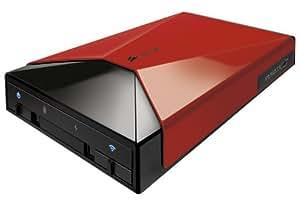 Corsair Voyager Air 1TB Wi-Fi 1000GB Black,Red external hard drive - external hard drives (1000 GB, NTFS, USB Type-A, 3.0 (3.1 Gen 1), 802.11b,802.11g,802.11n, 5000 Mbit/s)