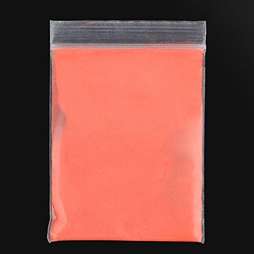 10g super heller, fluoreszierender, umweltfreundlicher Pulverfarbstoff für Bastelarbeiten Orange/Rot -