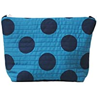 Large Blue Makeup Toiletry Bag Cosmetics Travel Storage Gifts for women gifts for her gifts for mum