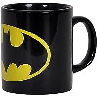 Batman Logo Tasse DC Comics Kaffeebecher Keramik schwarz