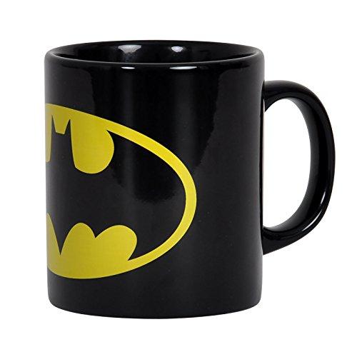 Batman - tazza con logo ottima per veri fan del fumetto - nero