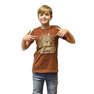 Ojos móviles Dudz Digital Hungry Bear Niños T-Shirt