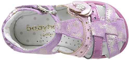 Babybotte Grillon, Chaussures Bébé marche bébé fille Rose (012 Pivoine)