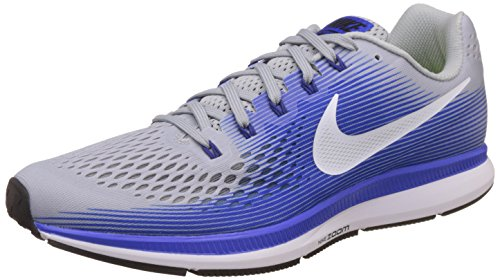 info for 64f51 24d62 Nike Men s Air Zoom Pegasus 34 Running Shoes, Grey (Wolf Grey white-