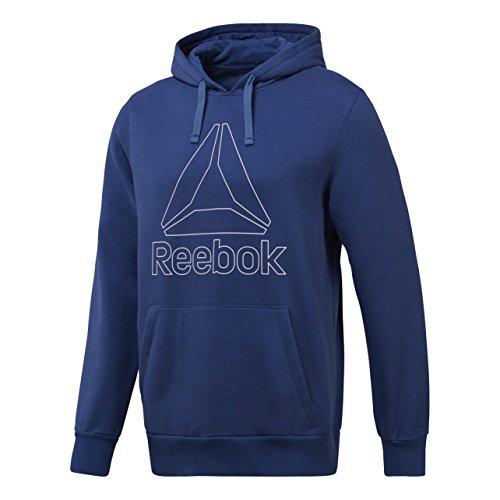 Reebok EL Big Logo Hoodie Sweatshirt, Herren, Blau-(wshblu) -