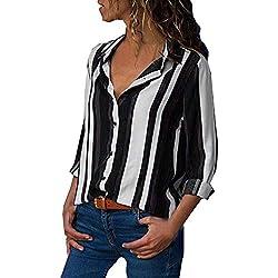 MORCHAN ◕‿◕ Chemisier Tops Sweat Cardigan Manteau Blouson T-Shirt à Manches Longues à Manches Longues à Manches Longues(FR-44/CN-XL,Noir)