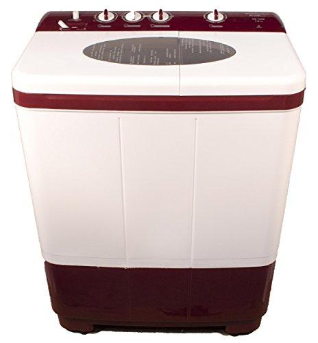 Kelvinator KS7052DM-FAU Semi-automatic Top-loading Washing Machine (7 Kg, Maroon)