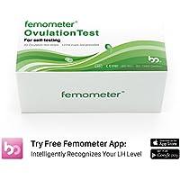 Femometer 20 Ovulation (LH) Teststreifen-Set, hochsensibel und genaue Ergebnisse, Smart Free App (iOS & Android... preisvergleich bei billige-tabletten.eu