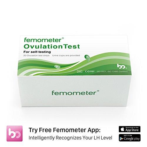 Kit combinado de tiras de prueba de ovulación para femómetros (20LH)