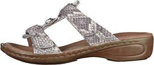 Ara - Hawaii, Pantofole Donna Grigio