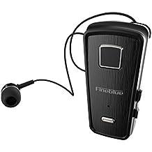 SamMoSon 2019 Auriculares Deportivos Bluetooth con Microfono Bluetooth, Auricular Estéreo Inalámbrico Retráctil Auricular Bluetooth Auriculares