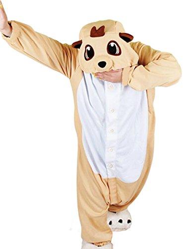 Und Kostüm Timon Pumbaa - wotogold Tier Erdmännchen Pyjama Unisex Erwachsene Cosplay Kostüme Orange