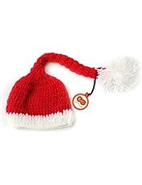 Fenical bebé ganchillo hecho a mano gorro de punto cuernos de reno sombrero  fotografía Prop para 0c85c4e5950