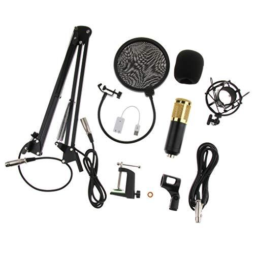 Home Cradle (B Blesiya Kondensator-Mikrofon Cradle-Halter-Clip-Ständer Geeignet für Rundfunk, Home Studio Recording)
