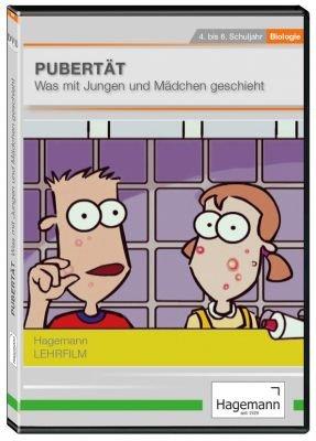 Pubertät - DVD - Lehrfilm für Unterricht und Ausbildung - Hagemann 180298 - Einzel- und Schullizenz