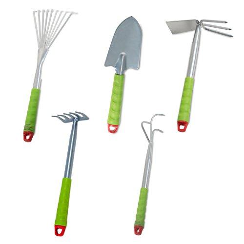 Windhager - Set di piccoli attrezzi da giardino (5 pezzi)