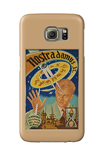 Nostrodamus Jr Vintage Poster (artist: Triano) Argentina c. 1950 (Galaxy S6 Cell Phone Case, Slim Barely There)