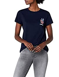 Tommy Jeans Damen GRAPHIC BADGE   T-Shirt