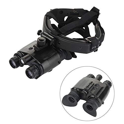 Nachtsichtgerät Infrarot Kopf tragen Helm HD Digital Doppelzylinder Teleskop