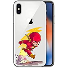 coque iphone x flash dc