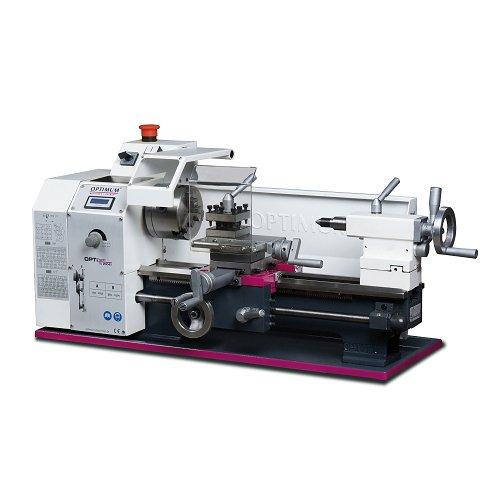 Optimum 050op0310Drehmaschine Typ TU 2004V mit stufenlose der Anzahl von U und digitaler Anzeige