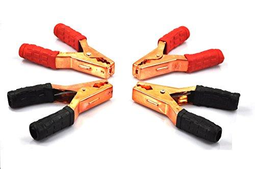 4Stück xincol tx-100Heavy Duty Akku Clip Ersatz Booster Kabel Klemme Set kann angeschlossen werden mit 1# AWG Draht Booster Jumper-kabel