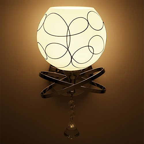 SKTDBG Eisen Wandleuchten Wand oben Speisesaal runde Wand Lampen,Single Oberkellner Lampe?