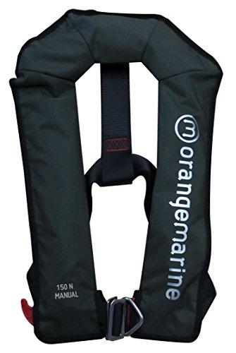 orangemarine-800021-giubbotto-salvagente-automatico-senza-cintura-di-sicurezza-unisex-adulto-verde-t