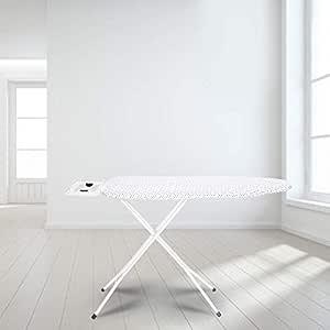 Happer Ace Large Foldable Metal Mesh Ironing Board (White)