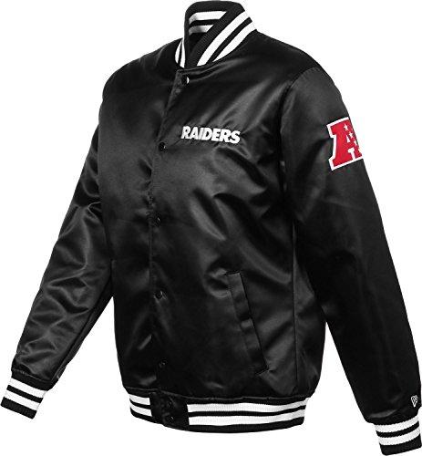 New Era Herren Jacken / Bomberjacke F O R Oakland Raiders Sateen Black