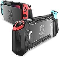 Mumba beschermhoes voor Nintendo Switch, TPU, compatibel met Nintendo Switch en Joy-Con Controller, zwart.