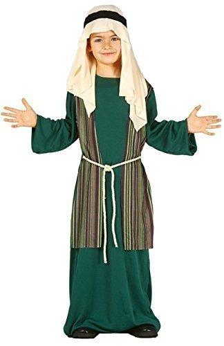Kleid Kostüm Shepherd - Fancy Me Jungen Grünen Shepherd Joseph Weihnachten Krippenspiel Weihnachten Kostüm Kleid Outfit 3-12 Jahre - Grün, 7-9 Years