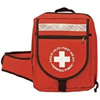 Leina Werke LEINA Erste-Hilfe-Notfallrucksack, Inhalt DIN 13160, rot