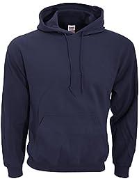 GILDAN - Sweat-shirt Homme - Gildan Adult 50/50 Cotton/Poly. Hooded Sweat