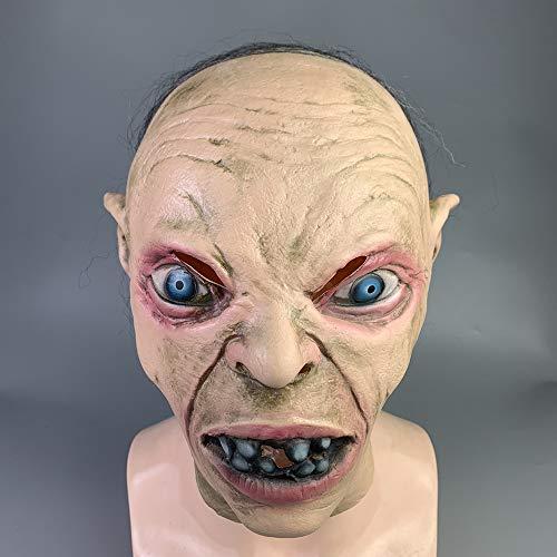 Faul Männer Kostüm - ZMDHL Halloween Maske, gruselig gruselig hässlich Faule Maske Halloween Party Kostüm Dekoration