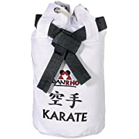 DANRHO Kinder Tasche Dojoline Canvas Bag Karate, weiß, 40 x 40 x 45 cm, 226018020