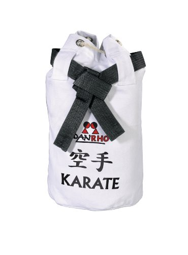 DANRHO, Borsa Dojoline Canvas Bag Karate, Bianco (Weiß), 40 x 40 x 45 cm