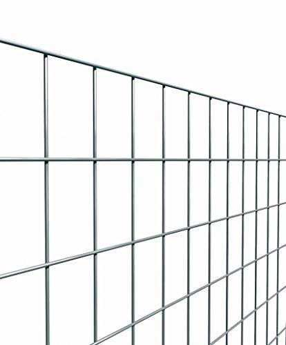Rotolo rete per recinzione metallica da 25MT zincata FILO MM 1,7 ALTEZZA CM 100 H MAGLIA MM 50X75 Cartomatica Confezione da 1PZ