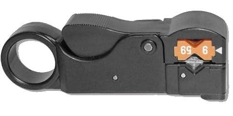 Platinum Tools Platinum Tools 15035C 3 Level Coax Stripper for RG8/11/RG213 Clamshell by Platinum Tools